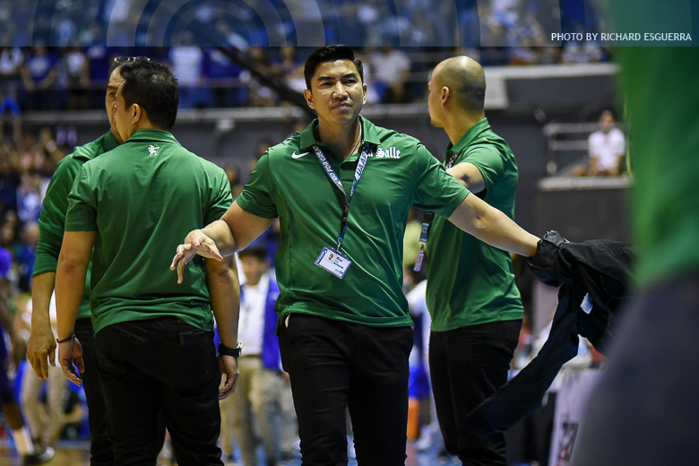 La Salle's Mbala on track for second straight UAAP MVP award