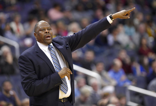 Ewing coaches Georgetown past Jacksonville 73-57 in debut