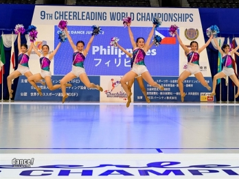 Team PHI bags 8 medals in Cheerleading World Championships
