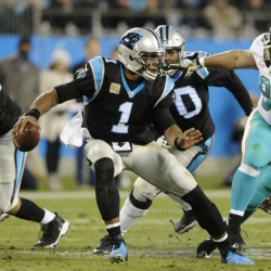 Newton, Panthers hammer Dolphins 45-21 for 3rd straight win