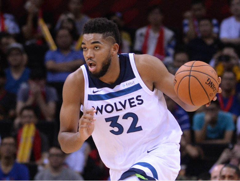 Timberwolves overwhelm Jazz for 109-98 win