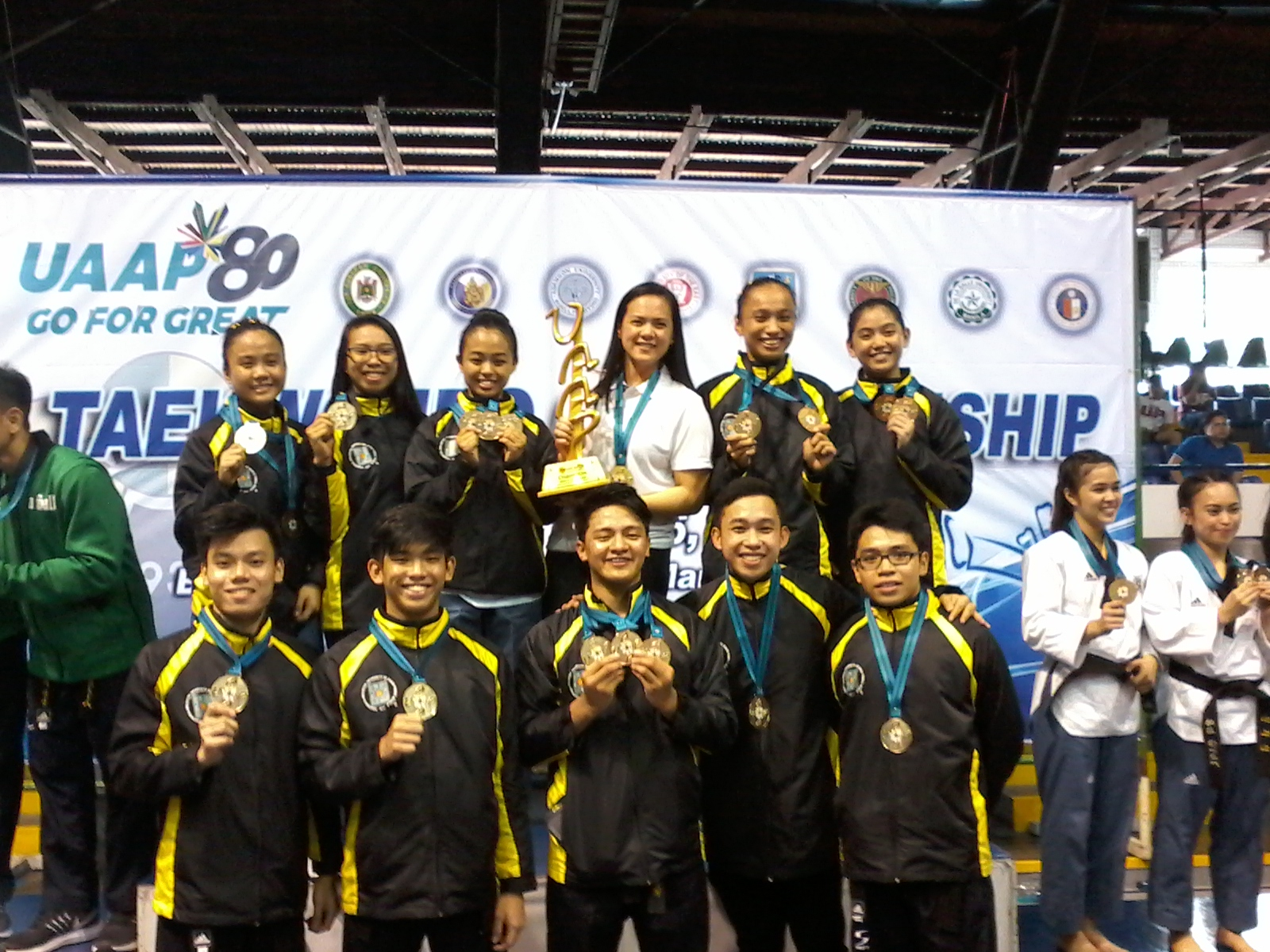UST rules UAAP poomsae competition