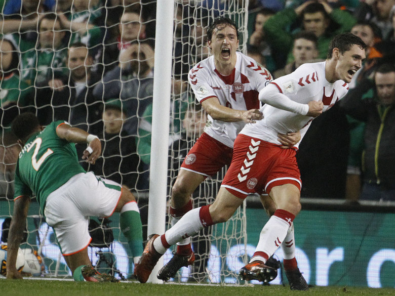 Denmark qualifies for World Cup with 5-1 rout of Ireland