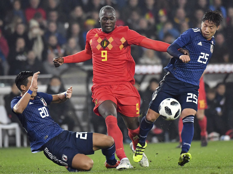 Lukaku gives Belgium 1-0 win over Japan in friendly