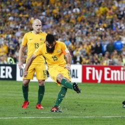 Jedinak stars as Australia qualifies for 2018 World Cup