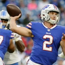 Bills bench QB Taylor in favor of rookie Peterman
