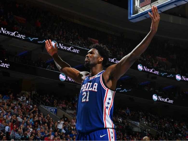 Sixers' Joel Embiid historically destroys the Lakers
