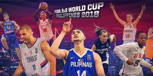 Manila will host 2018 FIBA 3x3 World Cup
