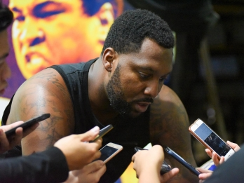 'Kuya Dray' Blatche officially back in action with Gilas