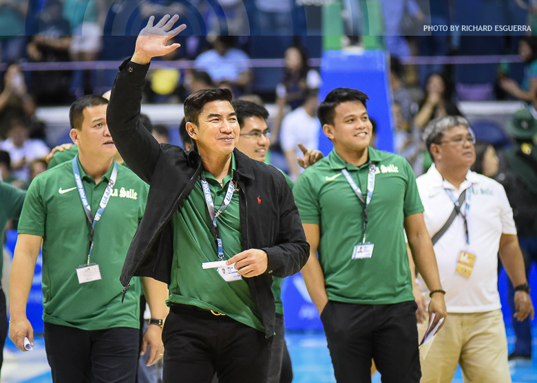 La Salle's Ben Mbala bags UAAP MVP award for second straight season