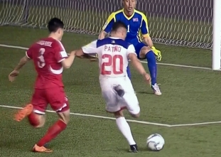 Fifa World Cup: Philippine Azkals vs North Korea H1