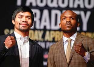 Pacquiao emotional at final press conference
