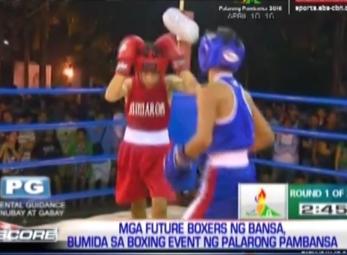 The Score: Future boxers in Palarong Pambansa 2016