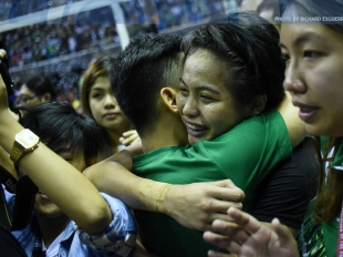 UAAP 78 WV Finals: Ara Galang with the solid spike!