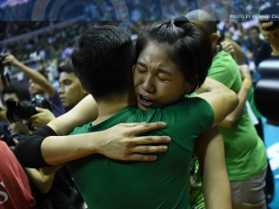 UAAP 78 WV Finals: Mika Reyes post interview