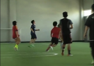 A FIFA-certified indoor football filed in Mandaluyong