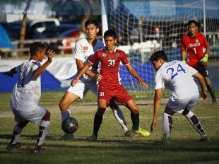 UAAP 78 Football: Kintaro Miyagi with the winning goal!