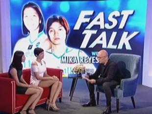 TWBA: Fast Talk with Mika Reyes and Kim Dy