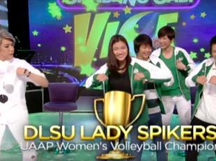 DLSU Lady Spikers on Gandang Gabi Vice  (Teaser)