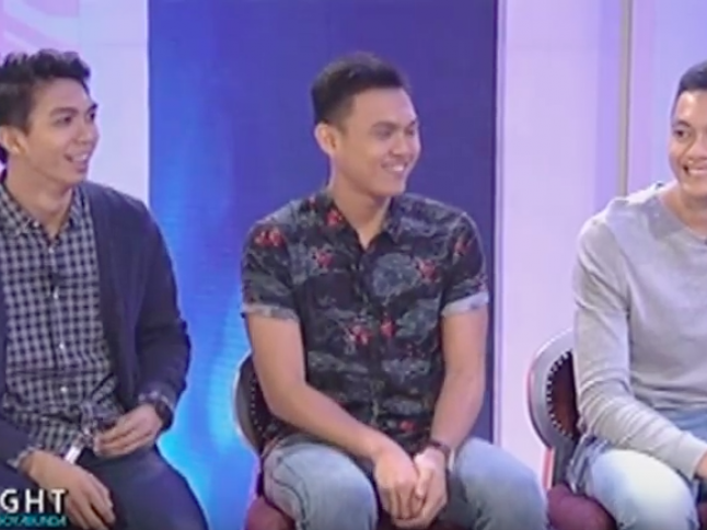 Fast Talk with Rex Intal, Ysay Marasigan and Ish Polvorosa