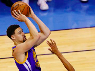 Every triple from Klay Thompson's Record Breaking Night