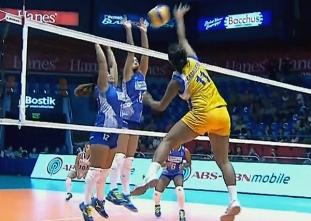 Shakey's V-League: Air Force vs Bali Pure Highlights