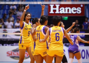 The Score: PHL Airforce Air Spikers on Shakey's V-League