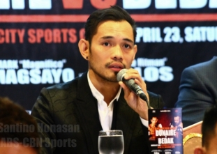 Donaire disapproves of pro fighters competing in Olympics