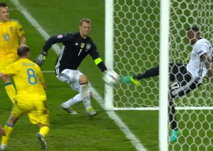 Germany vs Ukraine Match Highlights