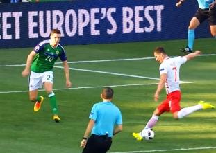 Poland vs Northern Ireland Match Highlights