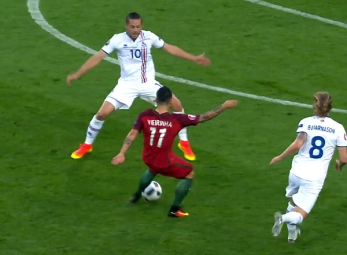 UEFA Euro 2016 Match Highlights: Iceland vs Portugal