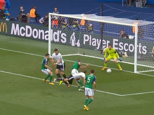 UEFA EURO 2016 Match Highlights:NORTHERN IRELAND VS. GERMANY