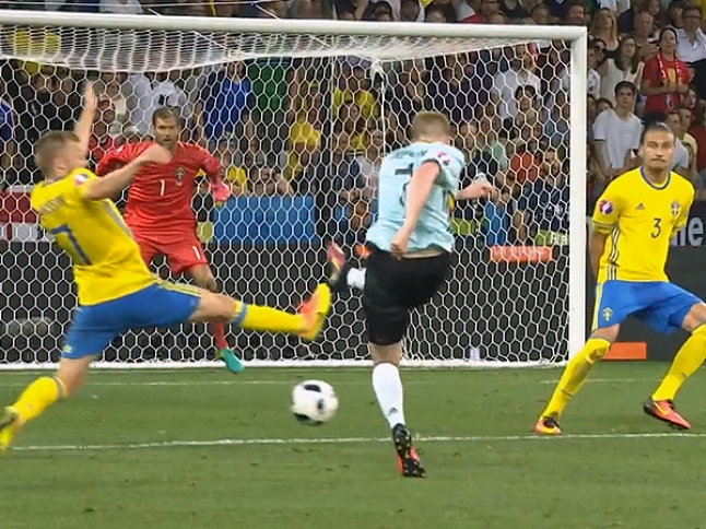UEFA EURO 2016 Match Highlights: SWEDEN VS. BELGIUM