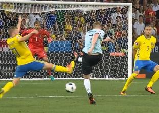 UEFA EURO 2016 Match Highlights: SWEDEN VS. BELGIUM