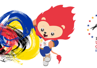 18th ASEAN University Games Singapore 2016 Women's Volleybal
