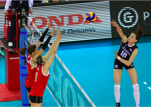 FIVB - World Grand Prix: Top 5 Spikes