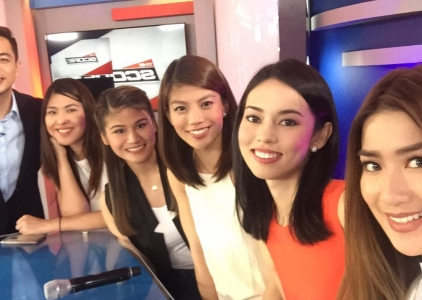 The Score: Meet the Upfront at the UAAP hosts