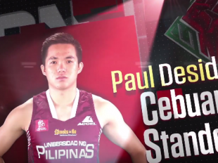 UAAP 79 UpFront Diaries: UP's Paul Desiderio