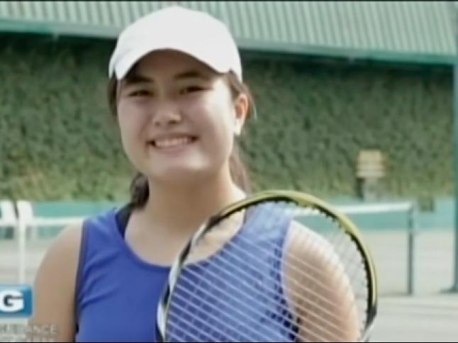 Pinay tennis prodigy Mae Coyiuto's efforts to inspire