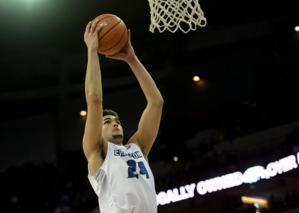 Kobe Paras makes US NCAA debut for Creighton University