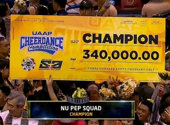 UAAP 79 Cheerdance Competition 2016 Awarding