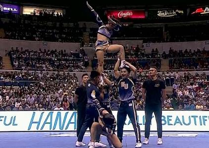 UAAP 79 CDC: NU Pep Squad Group Stunts
