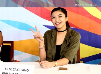 Pocari welcomes their newest player Fille Cainglet-Cayetano