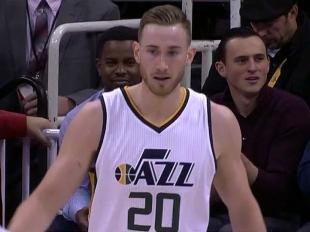 The Utah Jazz unload an 11-0 run in the third