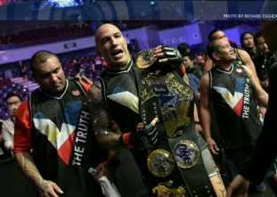 Brandon Vera defends his One Championship heavyweight title
