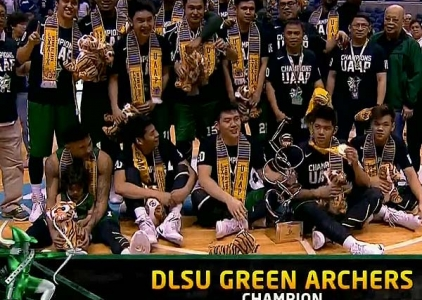 UAAP 79 Men's Srs. Basketball Awarding Ceremony