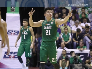 Jeron Teng gets called for a technical after taunting Nieto