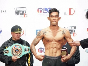 Aston Palicte makes Vegas boxing debut with win
