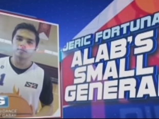 The Score: Jeric Fortuna, Alab Pilipinas' Small General