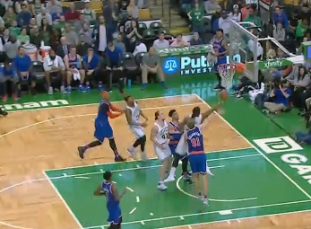 Recap: Rose leads Knicks past Celtics